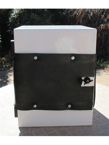 RubberGuard Mat Securing Cabinet